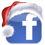 Facebook Christmas logo