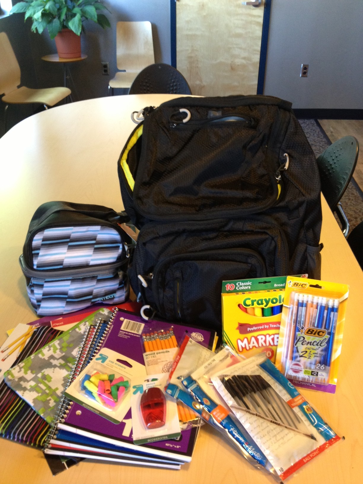 Pack the Backpack School Supply Drive