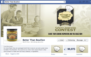 culinary contest for Better than Bouillon