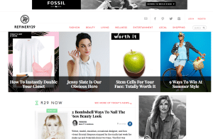 Digital Brands Best Blog ENews Refinery 29