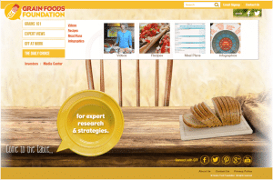 Grains Food Foundation Website User Experience