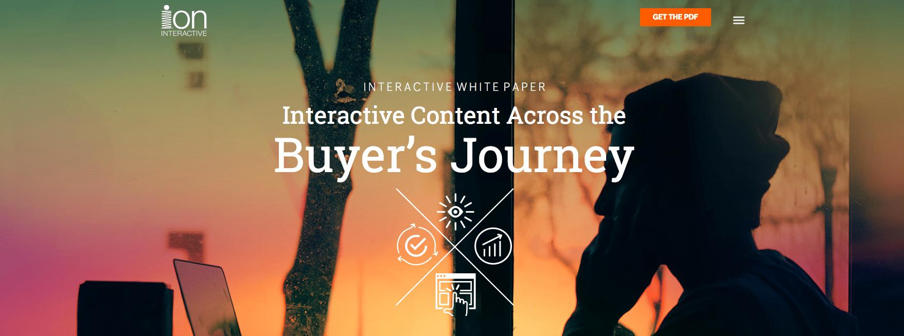 Interactive content - white paper