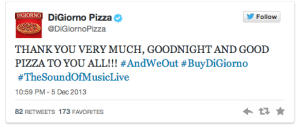 DiGiorno Pizza Live Tweets the Sound of Music