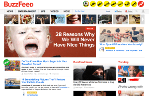 Most Clickable Content BuzzFeed