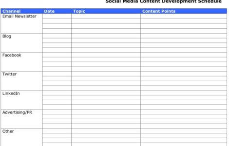 The Importance of Planning and Scheduling Social Media Content