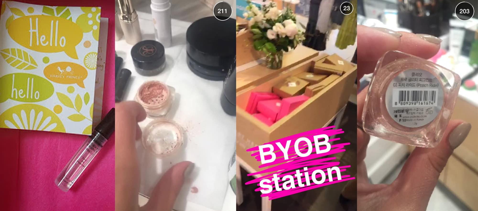 Birchbox Snapchat