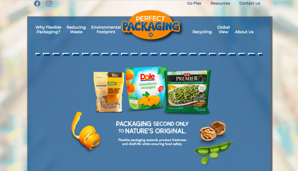 Perfect Packaging website