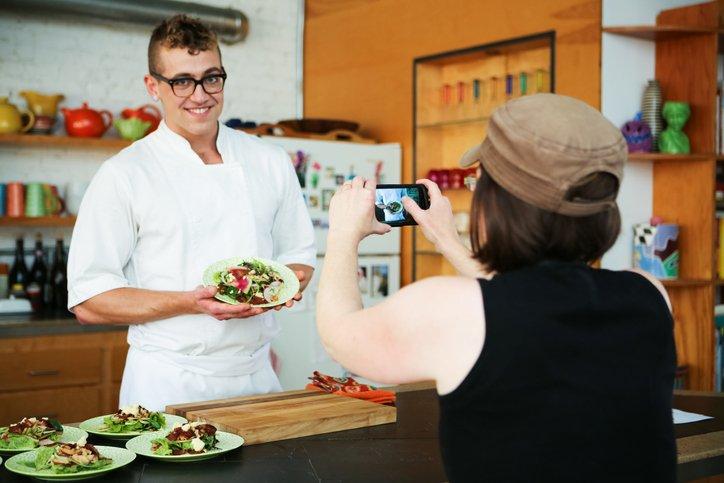 Instagram Reels content for restaurants