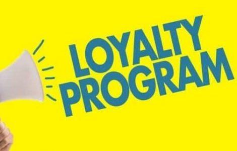 Loyalty Program sign