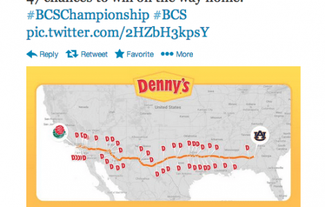 Social Media and Denny's Grand Slam