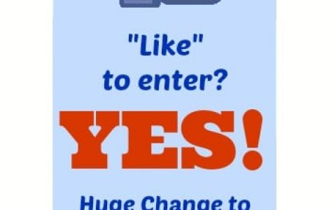 Facebook Contest Rules Update